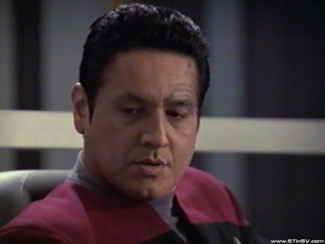 "Chakotay - ""hard working"""
