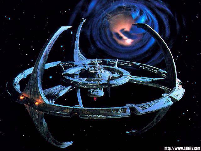 Deep Space Nine i Bajoranska crvotocina - prostorni procjep koji vodi na drugi kraj galaktike